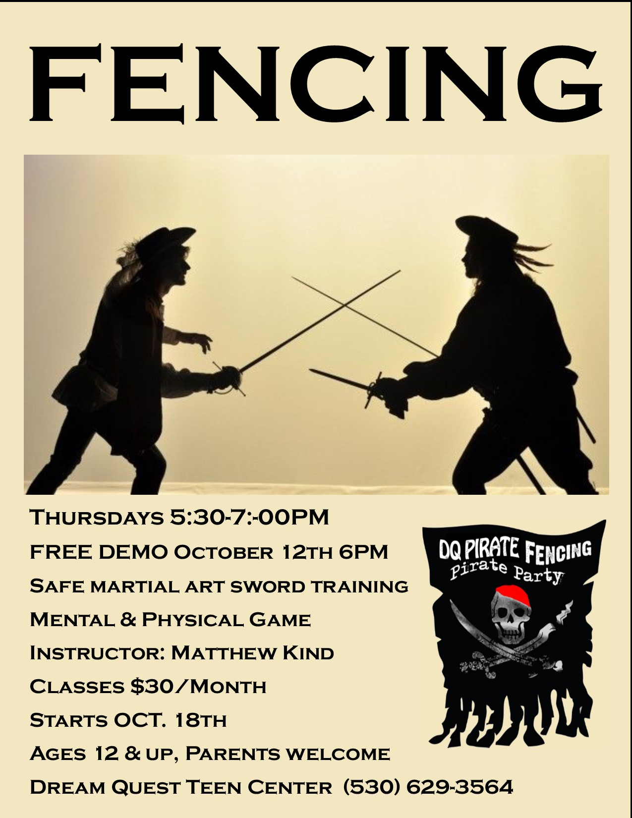 Fencing Poster 2018