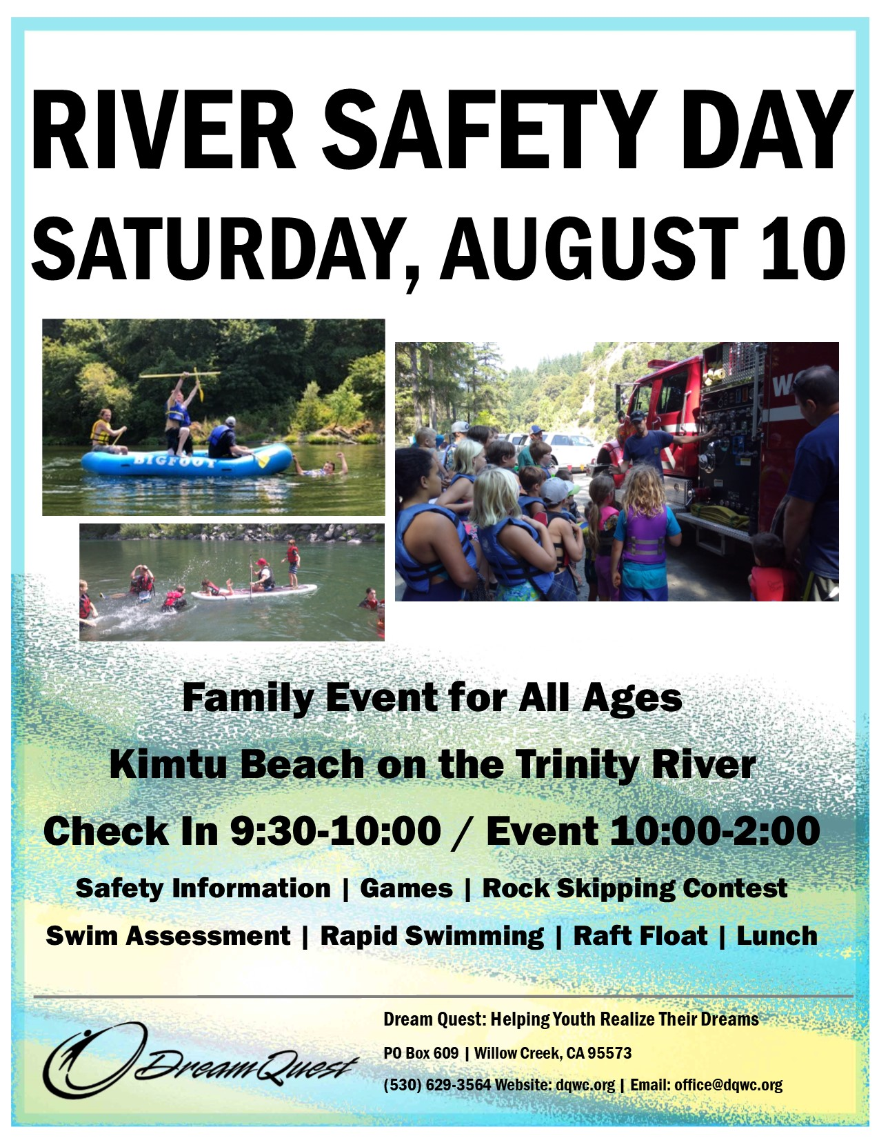 Dream Quest Family River Safety